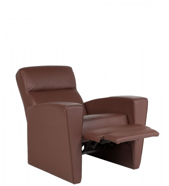 Chestnut Brown Leather Recliner CHR008639