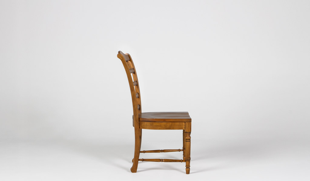 Distressed Pine Side Chair CHR009290
