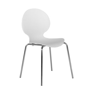 White Stack Chair CHR010290