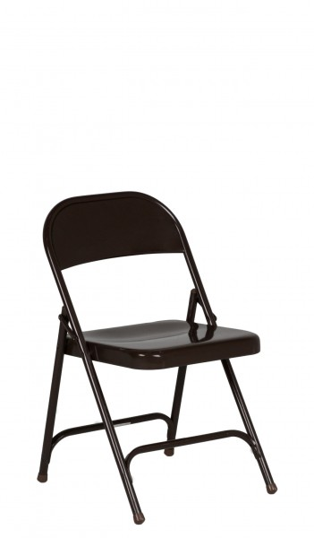 Add item to your Binder  sc 1 st  Arenson & Dark Brown Metal Folding Chair CHR010311 - Arenson Office Furnishings