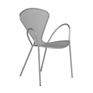 Aluminium Mesh Stack Chair CHR010491