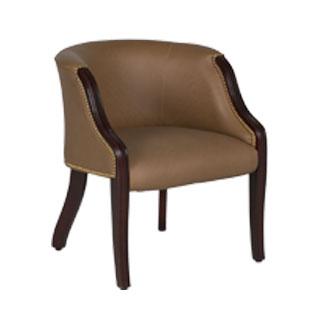Beige Vinyl Guest Chair CHR010729