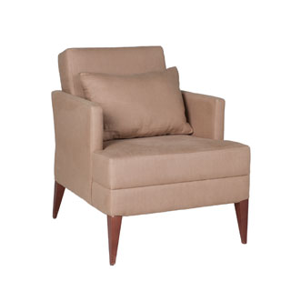 Tan Fabric Club Chair CHR011569