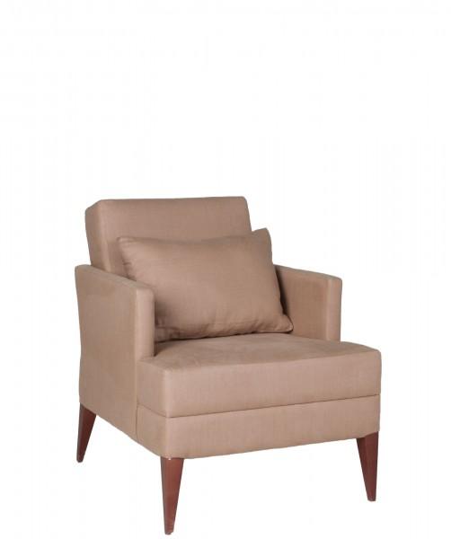 Tan Fabric Club Chair CHR011569