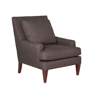 Charcoal Fabric Club Chair CHR011605