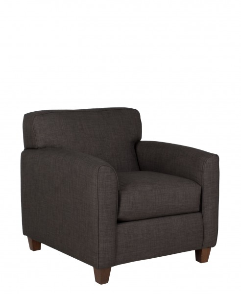 Dark Grey Fabric Club Chair CHR011611