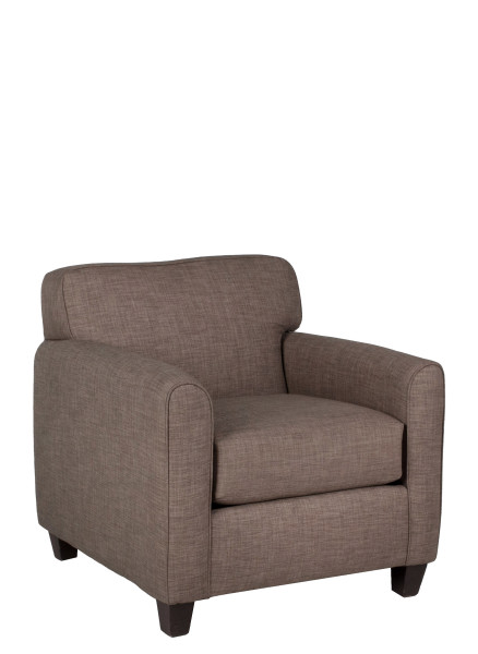 Stone Beige Pillow Back Club Chair CHR011615