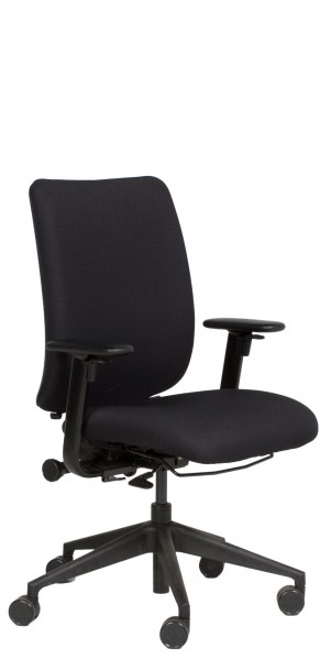 Black Fabric Executive Mid-Back Task Chair CHR011651