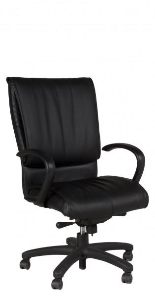 Black Leather Executive Hi-Back Chair CHR012026