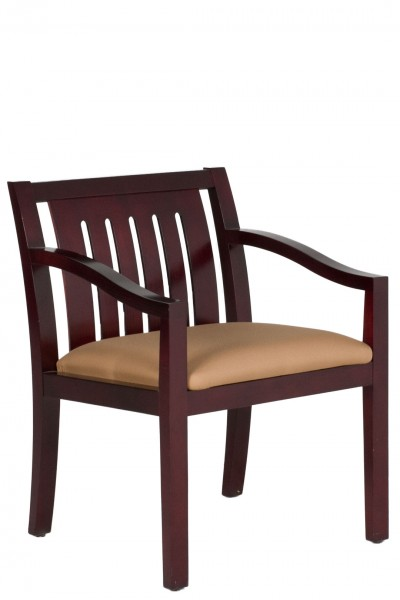 Dark Mahogany Guest Chair CHR012131