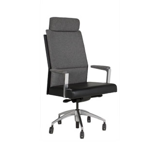 Grey Executive Hi-Back Chair CHR012140