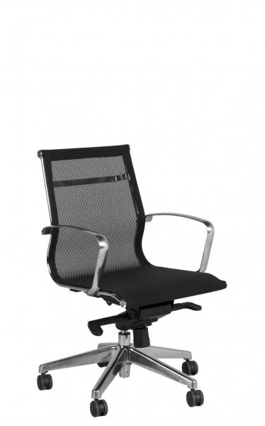 Black Mesh Mid-Back Office Chair CHR012143