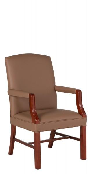 Tan Vinyl Guest Chair CHR012493
