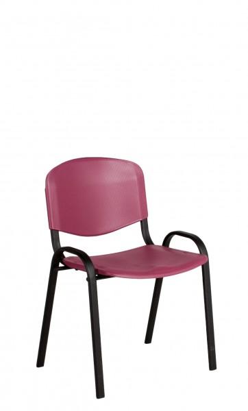 Burgundy Stack Chair CHR012669