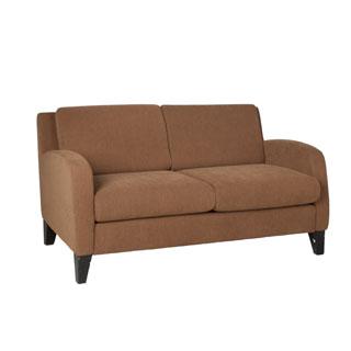 "54""w x 32""d Tan Fabric Upholstered Loveseat LVS011580"