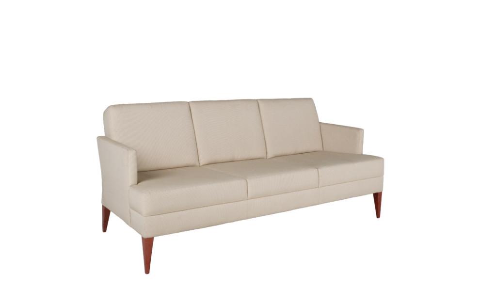 "74.75""h x 32""d Beige Fabric Sofa SOF009818"