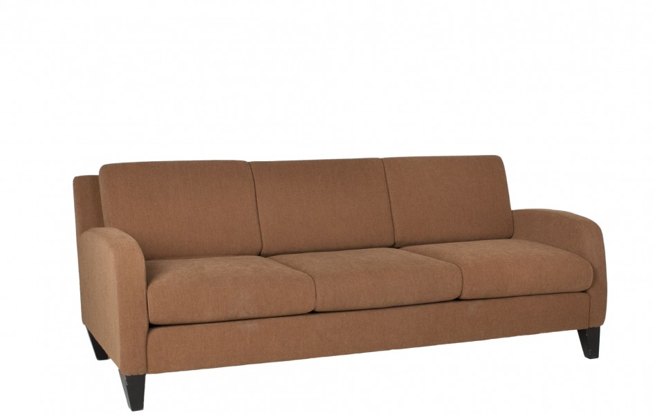 "76""w x 32""d Tan Fabric Upholstered Sofa SOF011579"