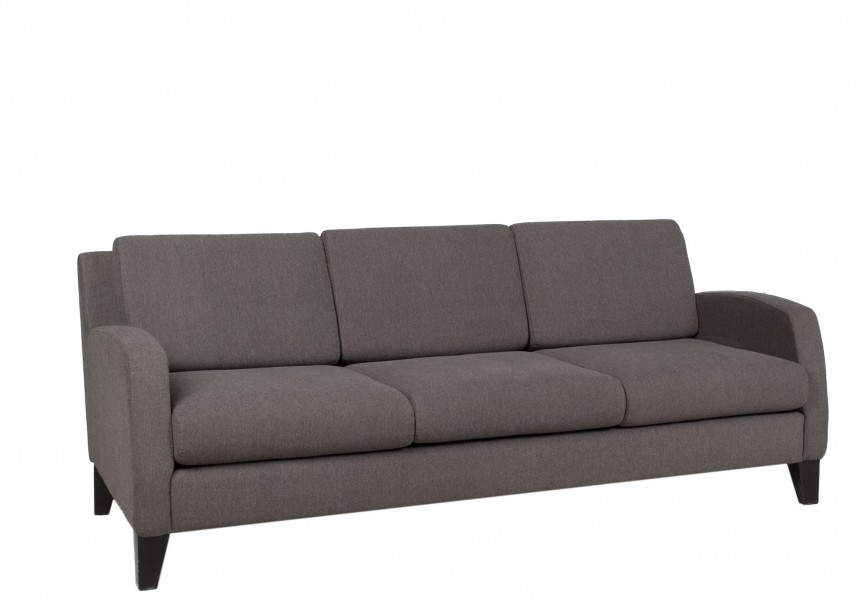 "76""w x 32""d Grey Fabric Sofa SOF011583"