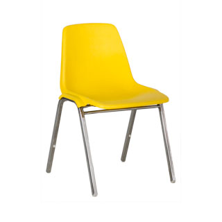Yellow Stack Chair CHR000537