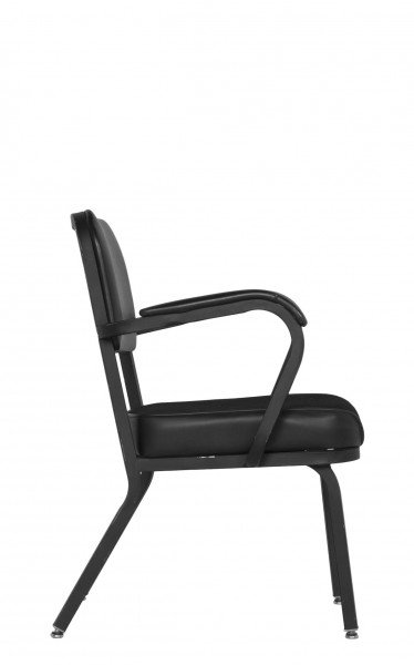 Black Fabric Guest Chair CHR005639