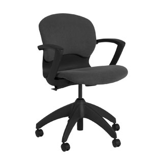 Grey Fabric Mid-Back Office Chair CHR006998