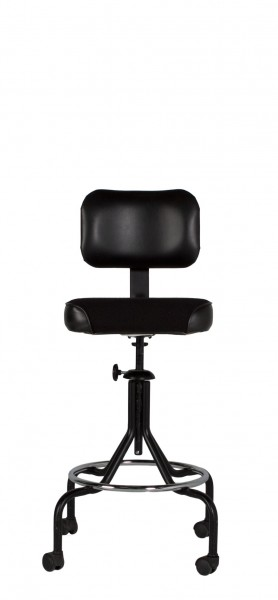Black Fabric Drafting Chair CHR007040