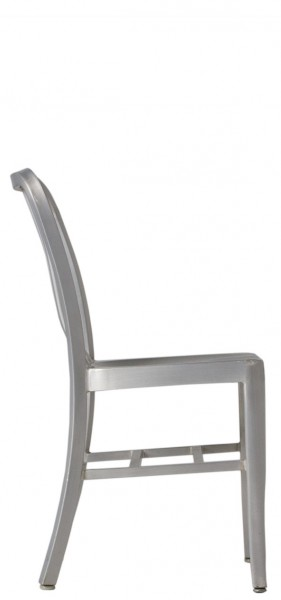 Aluminum Navy Side Chair CHR007458