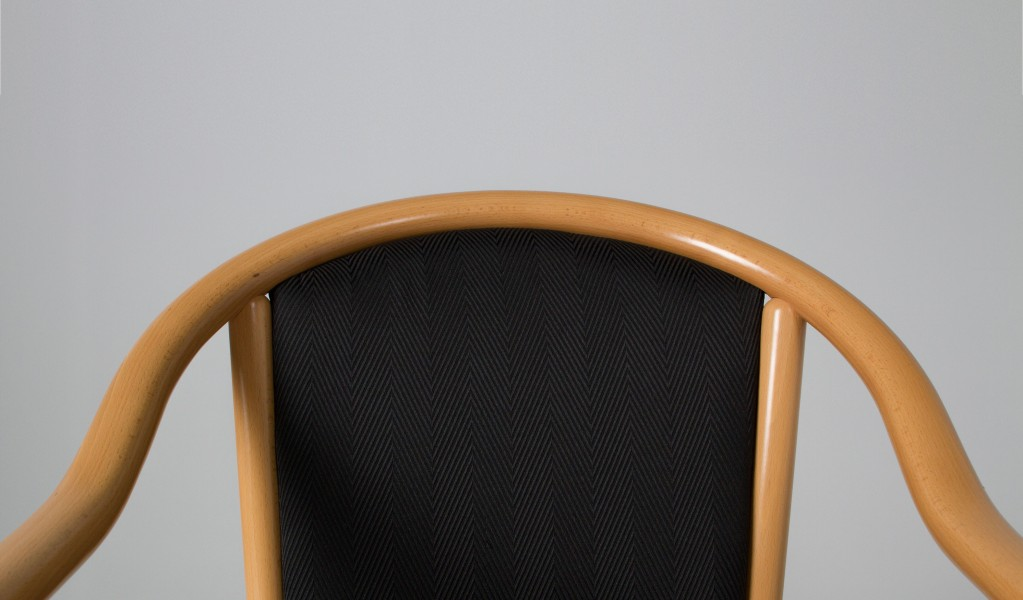 Natural Wood Guest Chair CHR007956