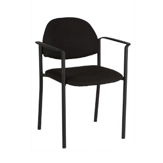 Black Stacking Chair CHR009361