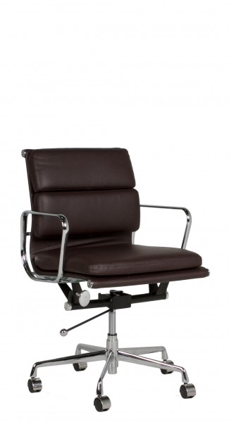 Brown Leather Executive Mid-Back Office Chair CHR011138
