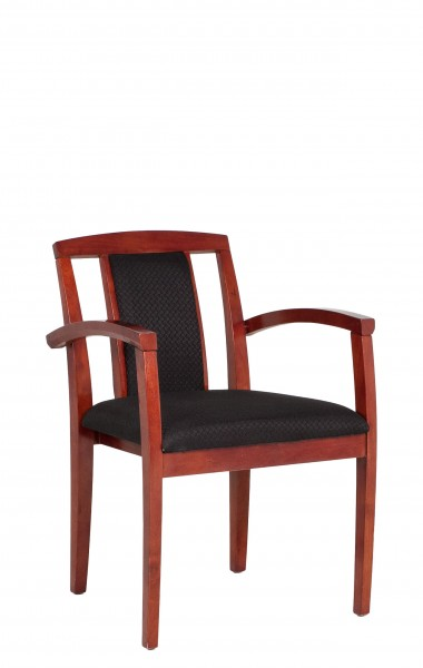 Black Fabric Guest Chair CHR011195