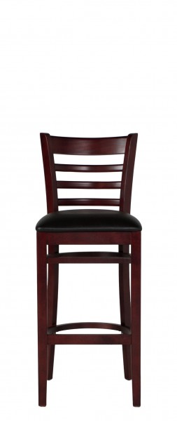Dark Mahogany Ladder Bar Stool CHR012949