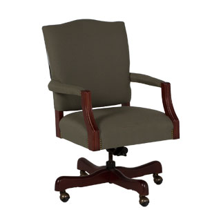 Dark Olive Green Executive Mid-Back Office Chair CHR013203