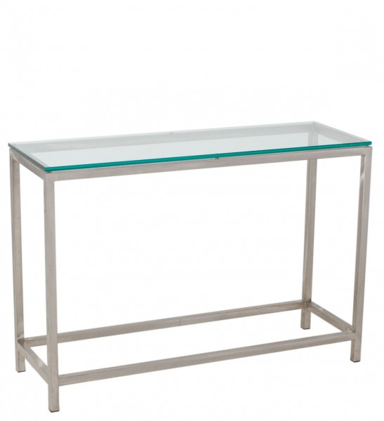 42w x 14d Modern Glass Console Table TBL008912 Arenson Office