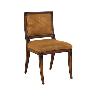 Walnut Biedermeier Side Chair CHR000579