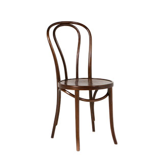 Walnut Bentwood Cafe Chair CHR003244