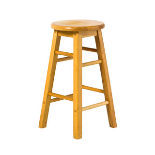 Natural Wood Kitchen Stool CHR003548