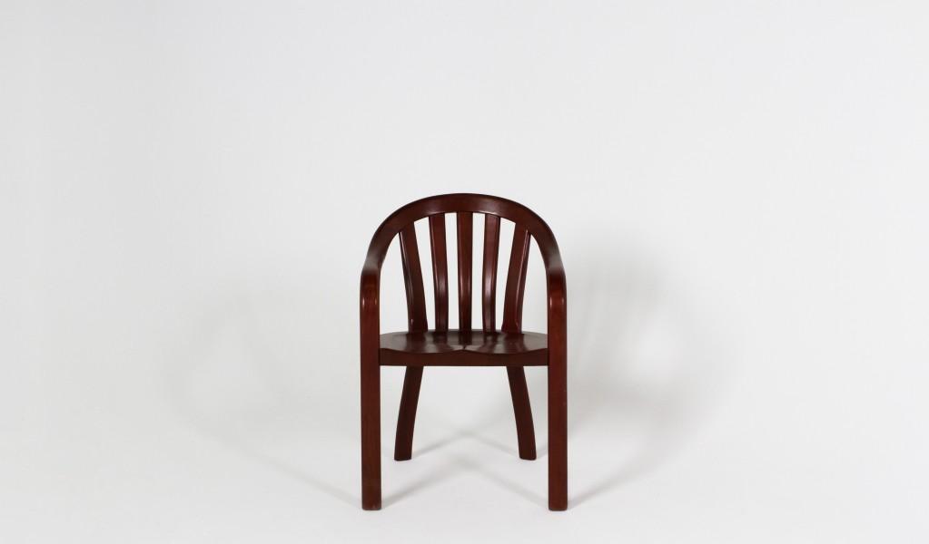 Medium Mahogany Courtroom Guest Chair CHR003886