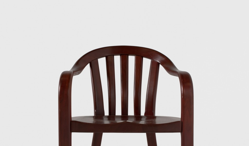 Medium Mahogany Courtroom Guest Chair CHR003886