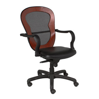 Black Mesh Swivel Task Chair CHR004835