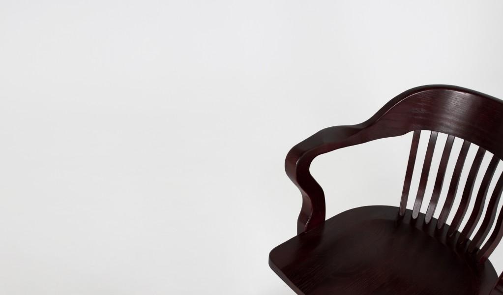 Mahogany Mid-Back Swivel Chair CHR006403