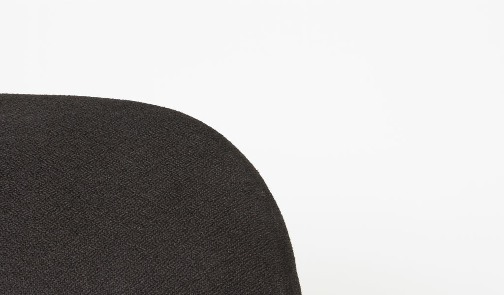 Black Fabric Guest Chair CHR006419