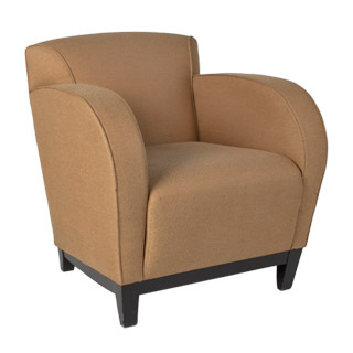 Tan Fabric Club Chair CHR008177