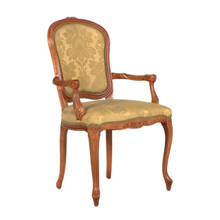 Maple Rounded Back Guest Chair CHR009274