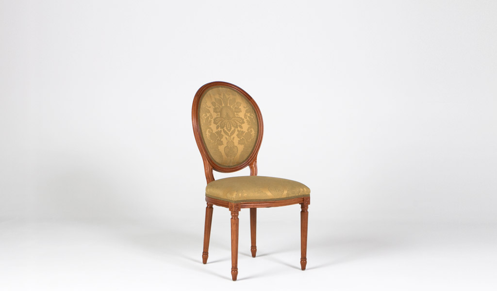 Maple Oval Back Side Chair CHR009275