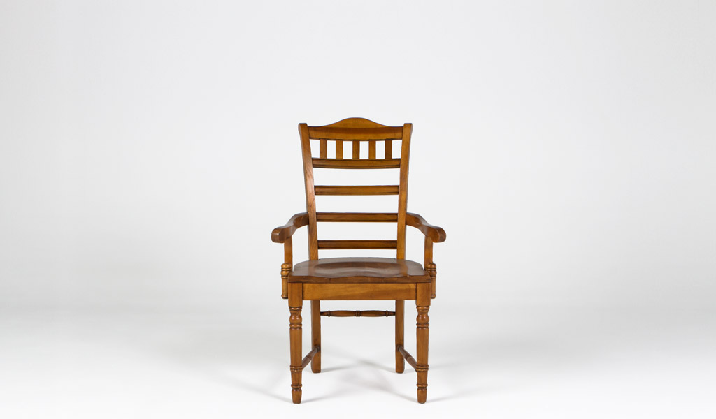 Distressed Pine Guest Chair CHR009289