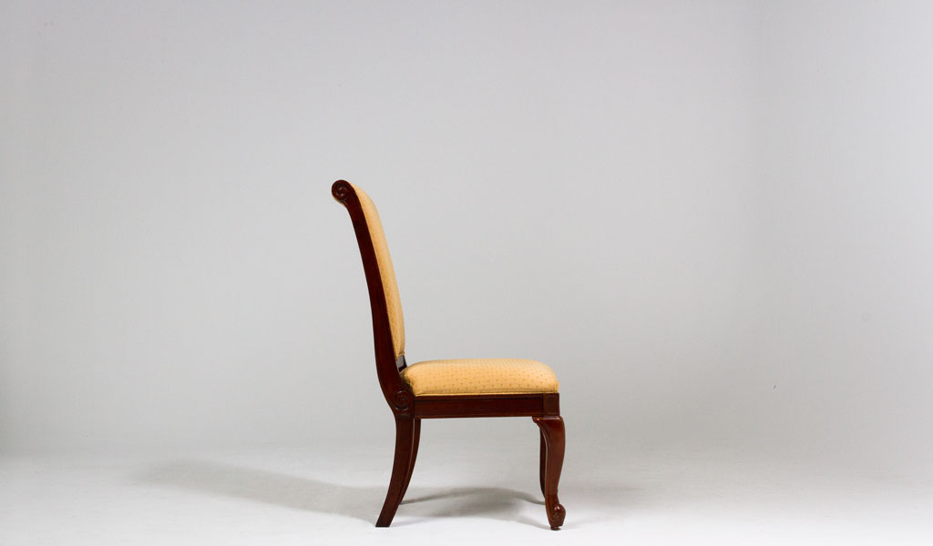 Traditional Louis Cherry Dining Chair CHR012727
