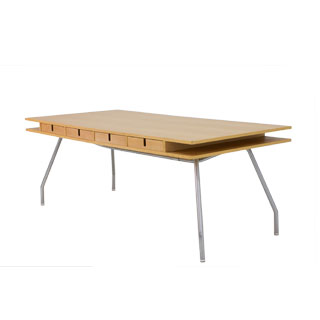 "73""w x 36""d Maple Table Desk DSK006796"