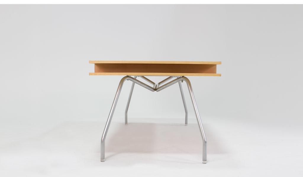 "73""w x 36""d Maple Table Desk DSK006796"