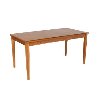 "60""w x 30""d Medium Oak Lincoln Courtroom Table TBL010589"